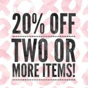 2 for 20% OFF!!!